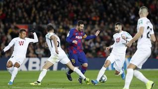 Hasil Liga Spanyol: Barcelona Susah Payah Kalahkan Granada