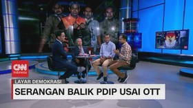 VIDEO: Serangan Balik PDIP Usai OTT (3/4)