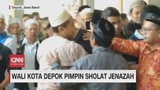 VIDEO: Wali Kota Depok Pimpin Sholat Jenazah