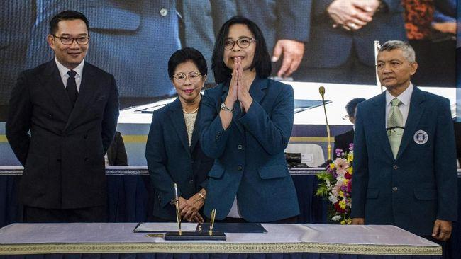 Reini Wirahadikusumah, Rektor Perempuan Pertama ITB