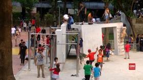 VIDEO: Taman Puring Terkini Paska Revitalisasi