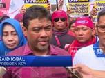 Demo di DPR, KSPI Khawatir Omnibus Law Akan Rugikan Buruh