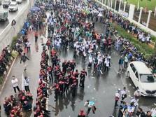 Buruh Mau Demo 30 Ribu Orang 'Kepung' DPR, Ini Kenyataannya