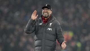 Bersama Liverpool, Klopp di Pintu Sejarah Liga Inggris