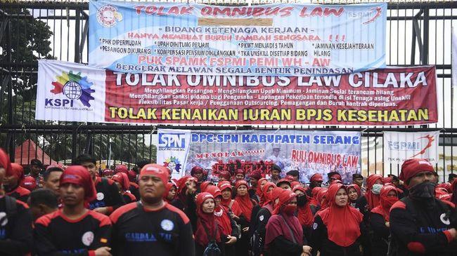 Mahfud MD: Buruh Demo Karena Tak Paham Omnibus Law
