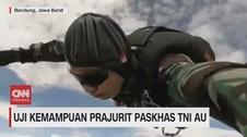 VIDEO: Uji Kemampuan Prajurit Paskhas TNI AU