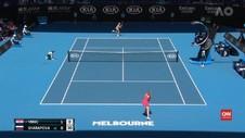 VIDEO: Sharapova Tersingkir, Pliskova Lolos ke Putaran Kedua