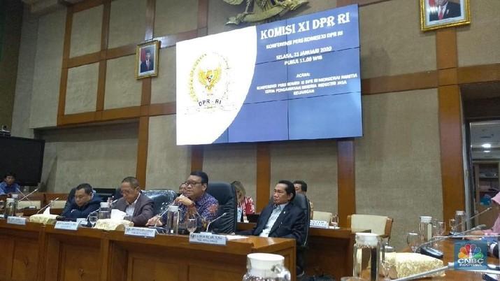 Panja yang dibentuk oleh komisi VI ini tidak akan tumpang tindih dengan panja yang sudah dibentuk oleh Komisi XI DPR.