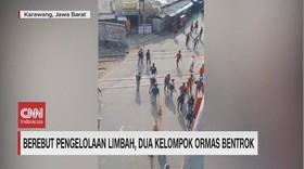 VIDEO: Dua Kelompok Ormas di Karawang dan Bogor Bentrok