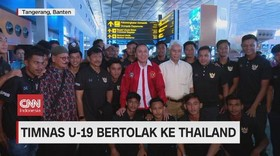 VIDEO: Timnas U-19 Bertolak ke Thailand