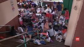 VIDEO: Evakuasi Warga dari Erupsi Gunung Taal