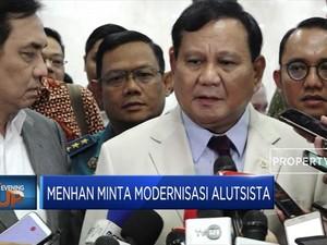 Prabowo Minta Modernisasi Alutsista RI