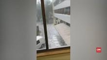 VIDEO: Hujan Es dan Badai Debu Serang Australia