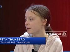 Aktivis Iklim Greta Thunberg Hadir di WEF 2020