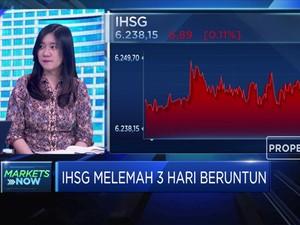 Bursa Asia Memerah, IHSG Ditutup Melemah