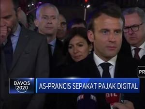 AS-Prancis Sepakat Pajak Digital