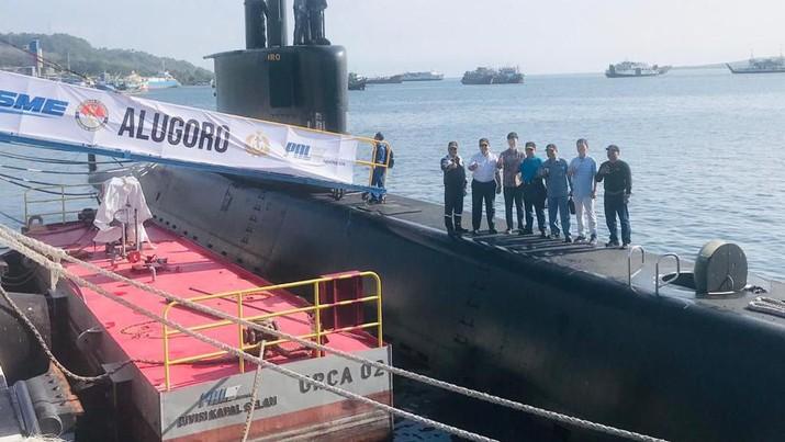 Kapal selam buatan Indonesia diambil dari nama senjata sakti Baladewa.