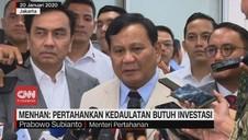 VIDEO: Prabowo: Tak Ada Tawar Menawar untuk Kedaulatan NKRI