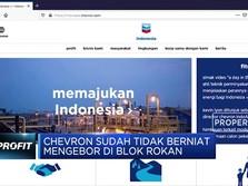Chevron Tak Minat Lagi Mengebor di Blok Rokan