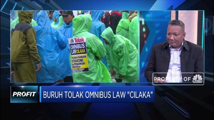 Para pekerja menyoroti 6 hal terkait penolakan Omnibus Law Cipta Lapangan Kerja (Cilaka)