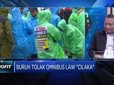 Streaming: Buka-bukaan Buruh Tolak Omnibus Law