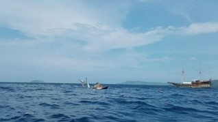 Kronologi Kapal Wartawan Istana Terbalik di Labuan Bajo