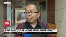 VIDEO: PPP Tanggapi Vonis Romahurmuziy