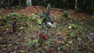 FOTO: Ritual Sesat Pengorbanan 6 Anak dan Ibu Hamil di Panama