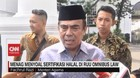 VIDEO - Menag: Tidak Ada Penghapusan Sertifikasi Halal