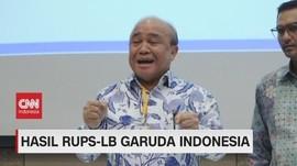 VIDEO: Garuda Indonesia Umumkan Direksi dan Komisaris Baru
