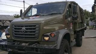 Mengenal Truk Rusia GAZ Sadko yang Bantu Korban Banjir Bogor