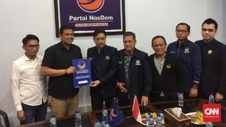 Bobby Nasution Daftar Bakal Calon Wali Kota Medan ke NasDem