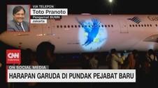 VIDEO: Harapan Garuda di Pundak Pejabat Baru