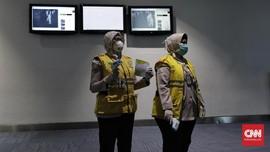 Seribu Petugas Bandara Kenakan Masker demi Cegah Corona