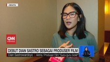 VIDEO: Debut Dian Sastro Sebagai Produser Film
