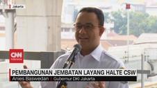 VIDEO: Pembangunan Jembatan Layang Halte CSW di Mulai