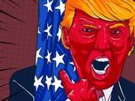 Kala Kepala Donald Trump Dihargai Rp 42 Miliar