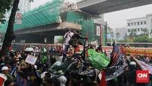 Warga Priok Demo Yasonna, Jalan Rasuna Said Macet