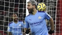 Hasil Liga Inggris: Man City Menang Berkat Gol Aguero