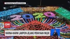 VIDEO: Warna-warni Lampion Jelang Perayaan Imlek