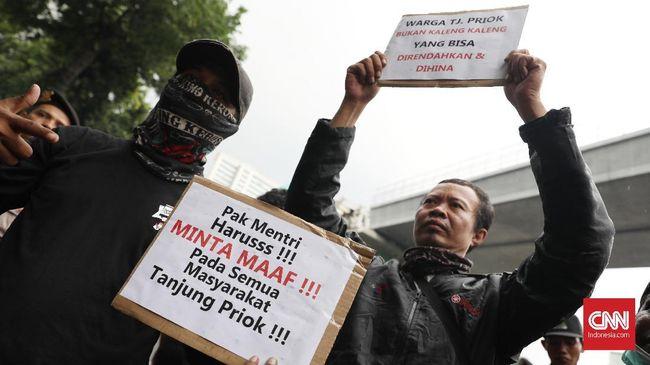 Warga Priok Desak Yasonna Minta Maaf, Ancam Aksi Lebih Besar