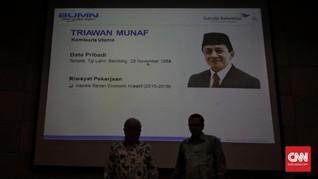 Triawan Munaf Diminta Jadi Komut Garuda Sejak Tahun Lalu