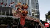 Semarak perayaan Jakarta Imlekan ini dimulai sejak 23 Januari hingga 9 Februari 2020. (CNN Indonesia/Andry Novelino)