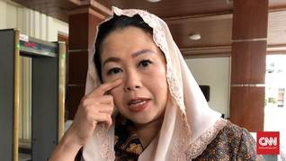 Yenny Wahid Klaim Posisi Komisaris Garuda Tak Terkait Politik
