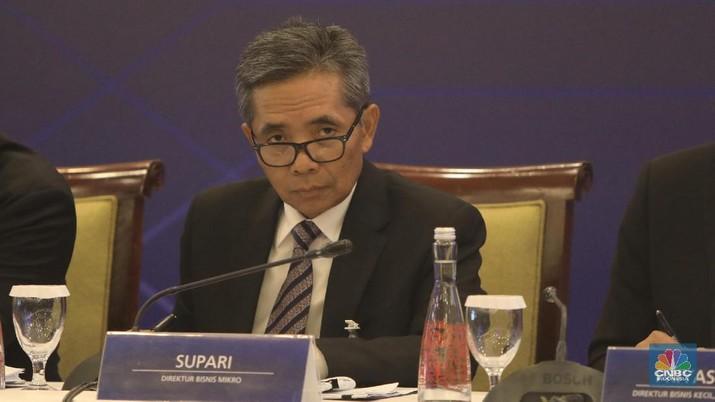 Direktur Bisnis Mikro, Supari. (CNBC Indonesia/Andrean Kristianto)