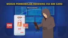 VIDEO: Modus Pembobolan Rekening via Sim Card