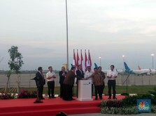 Jokowi: Runway 3 Bandara Soetta 35 Tahun Baru Dibangun