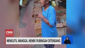 VIDEO: Mengutil Mangga, Nenek Rubingah Ditendang