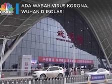 Ada Wabah Virus Korona, Kota Wuhan Sepi & Diisolasi
