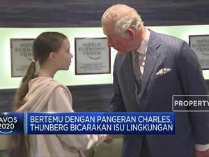 Greta Thunberg Curhat Soal Isu Lingkungan ke Pangeran Charles